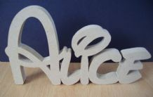 DISNEY STYLE WOODEN PERSONALISED NAMES/LETTERS/ PLAQUE/SIGN